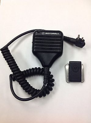 Motorola Microphone HMN9030A Remote Speaker Mic for 2 pin Radios