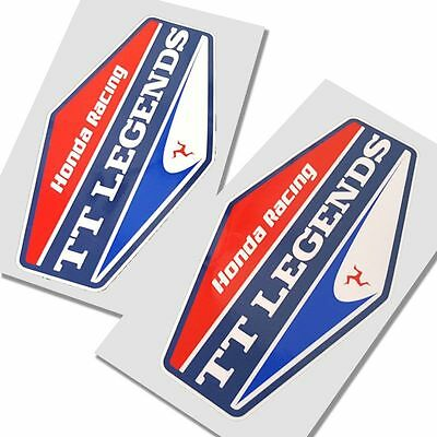 John McGuinness TT Legends Honda stickers  motorcycle   graphics x 2 SMALL