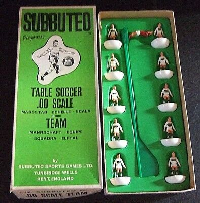Subbuteo HW #54 PLYMOUTH ARGYLE  in Number box