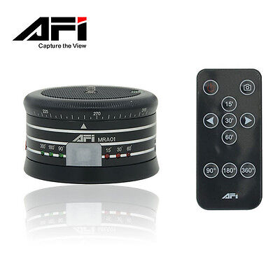AFI MRP01Professional 360° Metal Electric Panorama Head Ball with Remote Control