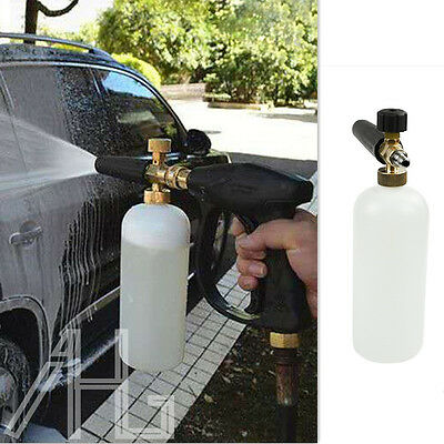 "Car 1L Snow Foam Lance Cannon With 1/4""Quick Connect Adapter For Pressure Washer"