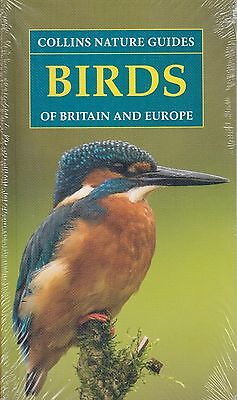 Collins Nature Guides Birds of Britain and Europe BRAND NEW BOOK (P/B 2017)