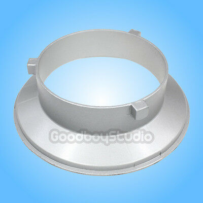 144mm Diameter Mounting Flange / Ring / Adapter for Flash Acessories fits Bowens