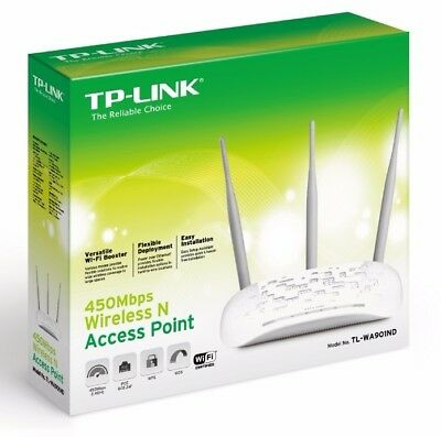 TP-Link TL-PA4010 AV500 Nano Powerline Adapter 500Mbps 300 meters LAN Brand New