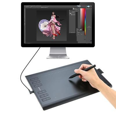 Huion 1060 Plus Graphic Drawing Tablet With Built-In 8G Micro Memory Card Black
