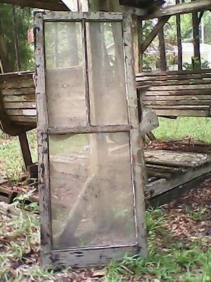 Old Vintage Glass Wood Windows  Varying  Shapes And Sizes Available