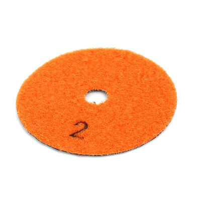 Grit 300 80mm Outer Dia Diamond Dry Polishing Pad for Marble Granite Stone