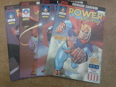 POWER & GLORY (Howard Chaykin) - Completa, 4 nºs