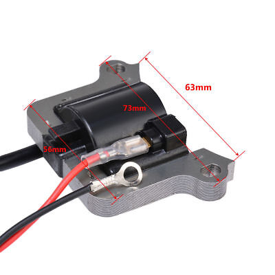 NEW UNIVERSAL IGNITION COIL TO FIT VARIOUS  STRIMMER BRUSH CUTTER 63mm centres