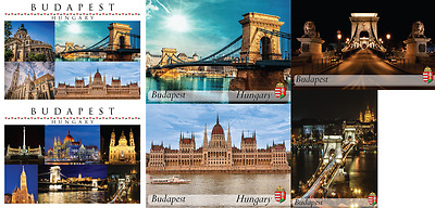 Budapest / Hungary Tourist Photo Fridge Magnet / Souvenir