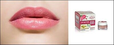 Bio Argan Oil Lip Butter BB with Natural Rose UV Protection - Paraben Free 5ml