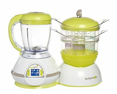 Brand New Babymoov Nutribaby Classic Multifunction Baby Food Processor