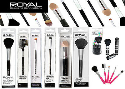 Royal Make Up Brush Cosmetic Soft Pro Eyebrow Brush Shaper Applicator Party