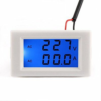 DROK  AC 110V 240V Digital Voltmeter Ammeter 100-300V 0-50A Voltage Meter Curren