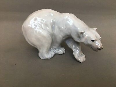 Royal Copenhagen Polar Bear 1137 by Knud Kyhn mint condition vintage 1935