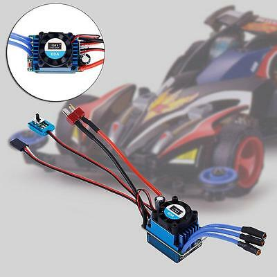 Racing 60A ESC Brushless Electric Speed Controller For 1:10 RC Car Truck 2016 GA