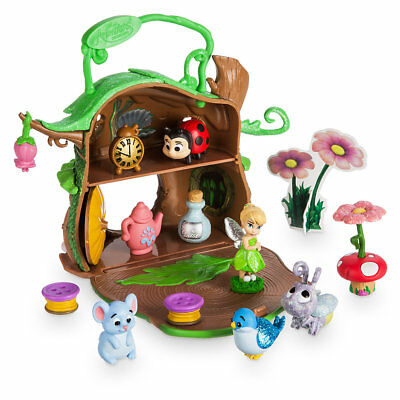 New Disney Store Tinkerbell Animators Collection Micro Toy Playset