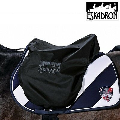 Eskadron Waterproof Saddle Cover Protector Fleece Lined Quality - Black One Size