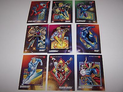 1992 Marvel Universe Series III Card Set 1-200