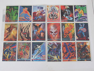 1993 Marvel Masterpiece Set With X-Men 2099 inserts