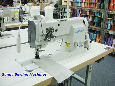 """Consew P2339RB Fully Assembled Double Needle Walking Foot Sewing Machine - 1/4"""""""