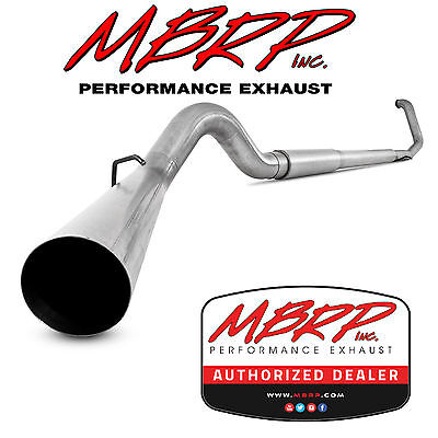 """Mbrp S62220P 5"""" Turbo Back Exhaust 1999-2003 Ford F250 F350 7.3L Diesel Offroad"""