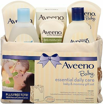 AVEENO Baby Essential Daily Care Baby - Mommy Gift Set 1 ea (Pack of 2)