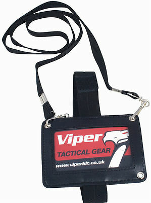 Viper Tactical 3-Way ID Badge Holder Security Lanyard New SIA Card Permit Pass