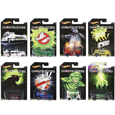 Hot Wheels Ghostbusters Diecast Cars 1:64