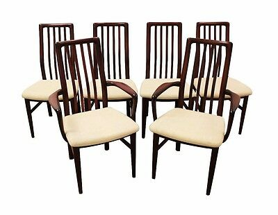 Set of 6 Mid Century Danish Modern Rosewood SVA Mobler Dining Chairs