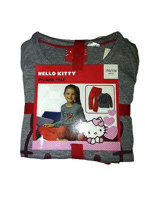 Kids Girl  Clothes Pyjama hello kitty cotton Cartoon Sleepwear new Nightwear