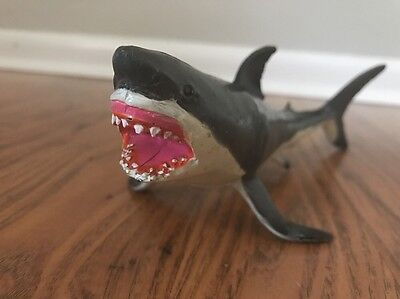 Safari ltd. Monterey Bay Great White Shark figure 1991 ~10""