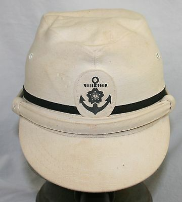 Ww2 Japanese Officer Summer Navy Cap