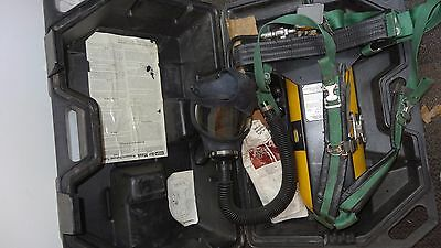 MSA Model 401 Harness & Complete Apparatus With Case and Tank