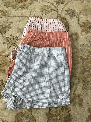 American Eagle Women's Boxers Size Medium And Large Cotton Lot Of 3
