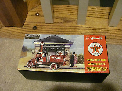 1919 GMC Tanker Truck #17 In The Texaco Series The CHROME  Edition Year 2000