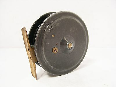 """Vintage Antique Alloy Dingley 3 ¼"""" Trout  Fly Fishing Reel"""