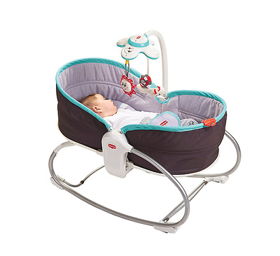 Tiny Love 3-in-1 Rocker Napper Grey Turquoise
