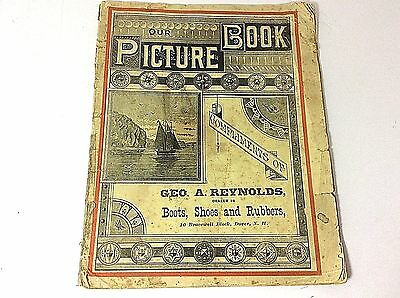 Antique Dover NH Shoe Salesman George A Reynolds Free Sample Children's Book