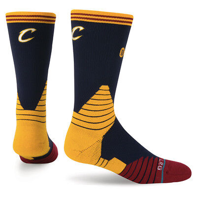 Cleveland Cavaliers Stance NBA On-Court Crew Socks - Navy