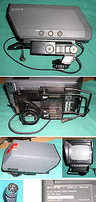 SONY DXF-50B ELECTRONIC VIEW FINDER studio camera screen display