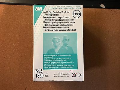 3M Health Care Particulate Respirator and Surgical Mask Box of 14