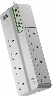 APC Performance SurgeArrest with 8 Outlets with Phone & Coax and Protection (230