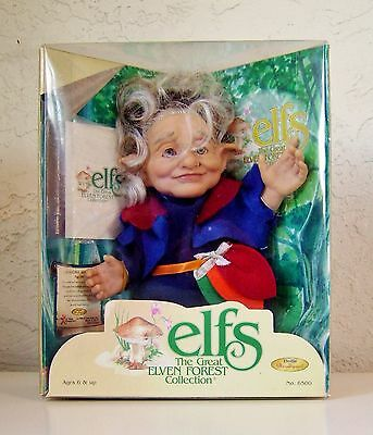 "Elfs  ""Grandmother Maryss""  #6500  Dolls by Berenguer  1998"