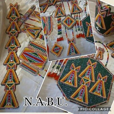 Native American Women's Ceremonial Dance Regalia 15 piece set