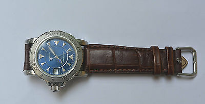 Vintage Montblanc Auto Steel Watch. Ref 7035, Cal 4810-401 - Repairs