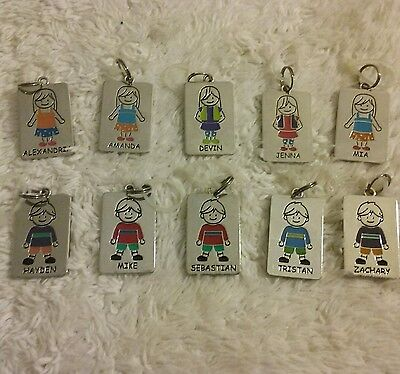 Children's Identification Name Tags  attach to jackets/backpacks/lunchbox. NWT
