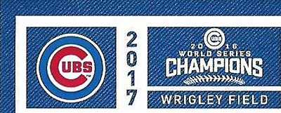2  - CHICAGO CUBS vs LOS ANGELES DODGERS 4/10 Opening Day Tickets