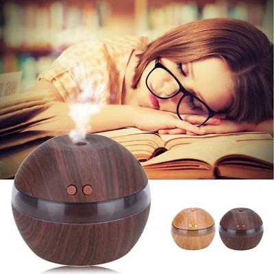 Air Aroma Essential Oil Diffuser LED Ultrasonic Aroma Aromatherapy Humidifier DB