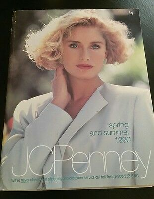 1990 Spring & Summer JCPenney Catalog Wish Book - SHIPPED IN A BOX!